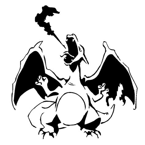 charizard template charizard template 28 images charizard by misterxman