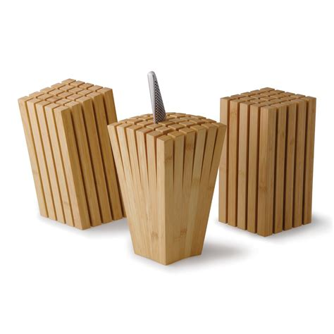 cool knife block split bamboo knife block so that s cool
