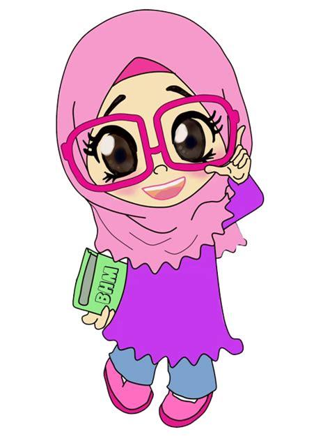doodle kartun bunga hati freebies doodle cikgu bunga muslim