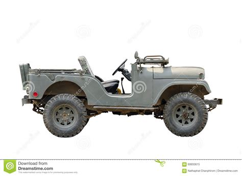 vintage military jeep vintage military vehicles stock image image of iron