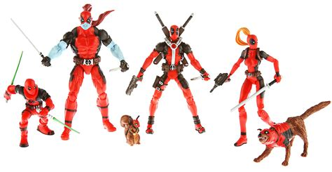 Figure Deadpool Corps Marvel Set reminder afp free stuff giveaway sdcc 2013 exclusive marvel universe deadpool corps taco