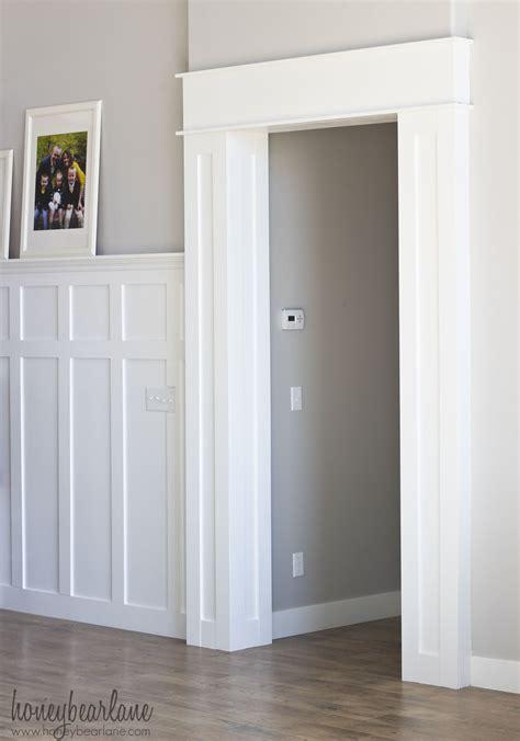 door trims and mouldings diy doorway trim honeybear