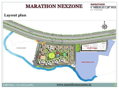jnpt layout plan marathon nexzone residential projects in navi mumbai
