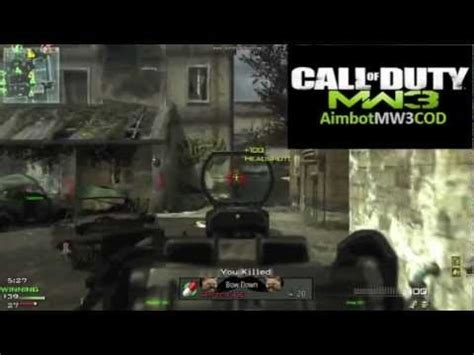 mw3 aimbot hack tutorial xbox 360 no surveys mw3 aimbot download xbox 360 ps3 pc youtube