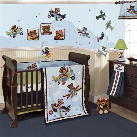 Planes Crib Bedding Our Baby Boy Plane Nursery Ideas Juliaism