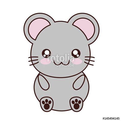 imagenes de animalitos kawaii quot kawaii mouse animal icon over white background colorful