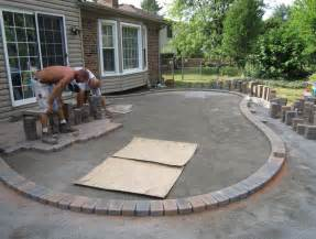 Diy Patio With Pavers Diy Paver Patio Ideas Home Design Ideas