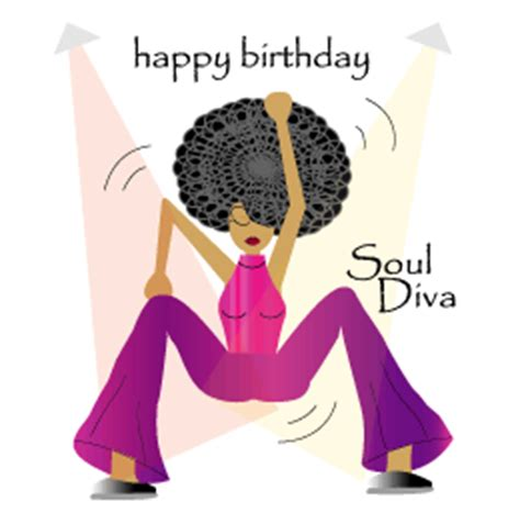 Afro American Birthday Cards Soul Diva Black Birthday Card Jwgreetings Co Uk