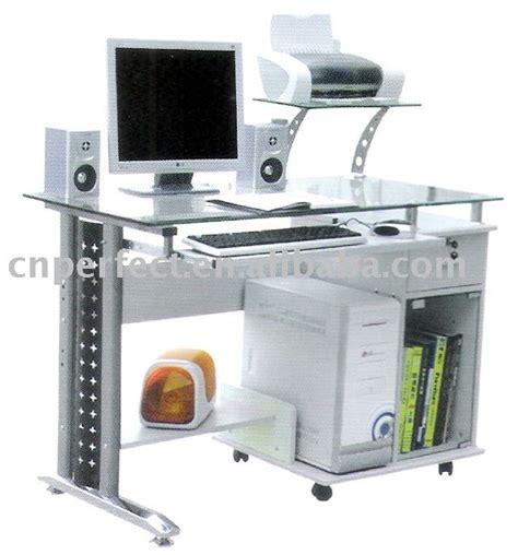 Meja Komputer Kaca kaca kantor modern meja komputer meja kaca id produk