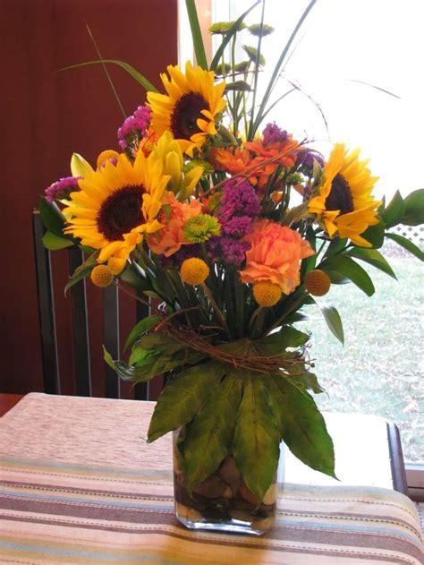 sunflower arrangements ideas november flower arrangements for the home 5th generation