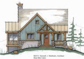 Superb small mountain home plans 5 small timber frame home plans