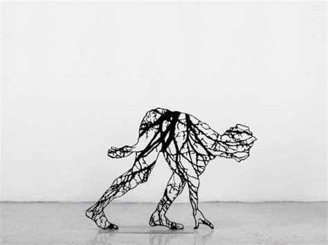patterns in nature david pratt elegant human sculptures made of intricate patterns found