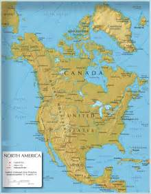 map of america continent america continent