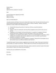 best photos of college appeal letter sle college academic appeal letter sle college