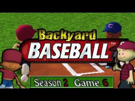 backyard baseball 2005 backyard baseball 2005 season 2 episode 6 bad call