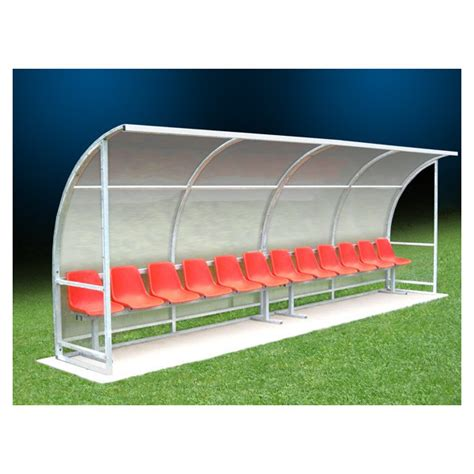 panchine da calcio panchina allenatori in alluminio 5 mt 10 posti conquest