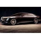 Rendered Cadillac Ciel Reimagined As A Sedan