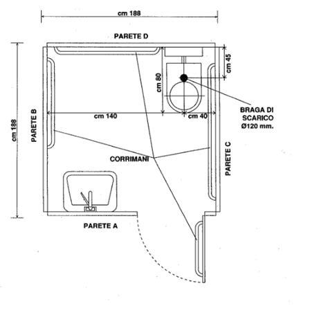 misure standard bagno disabili bagno disabili dimensioni minime dwg dimensioni minime