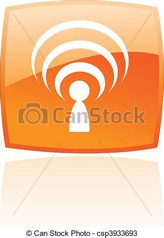 orange podcast vectors of glossy orange podcast glossy podcast in