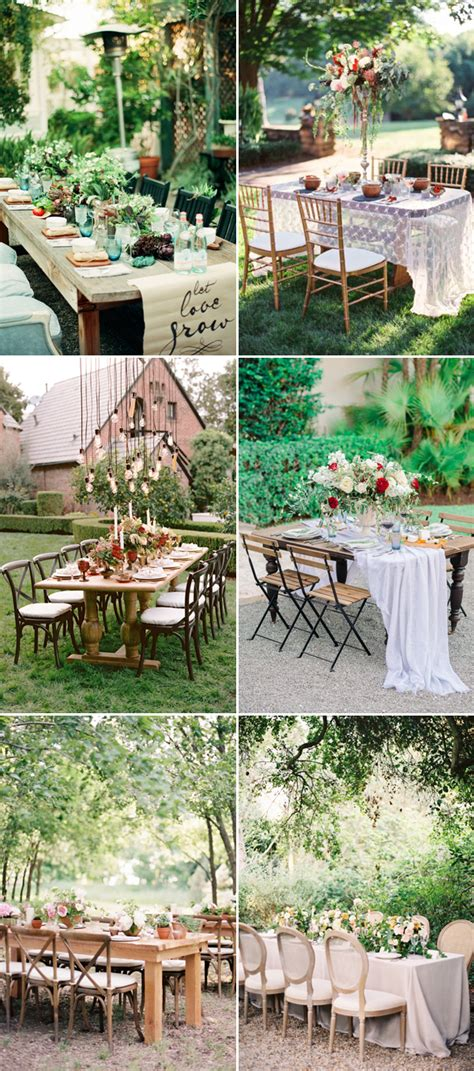 sweet reception table decor ideas  small intimate
