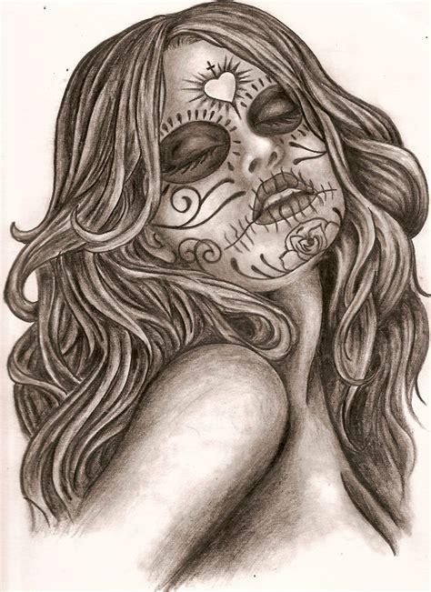 dia drawing dia de los muertos by thetattooedgirl on deviantart