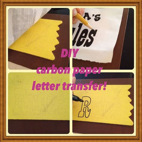 Letter Transfer Paper Pin By Emily Hancock On Ideas