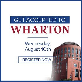 How To Get Into Wharton Mba Program by Wharton Is Within Your Reach Live Webinar