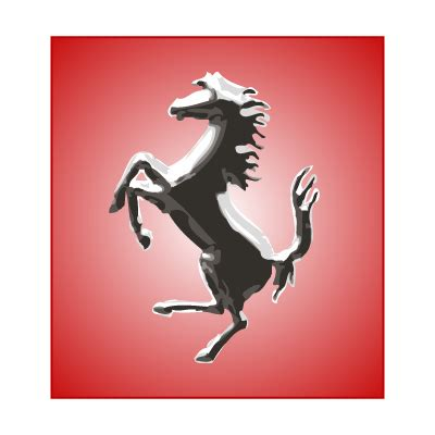 ferrari horse logo ferrari logos in vector format eps ai cdr svg free