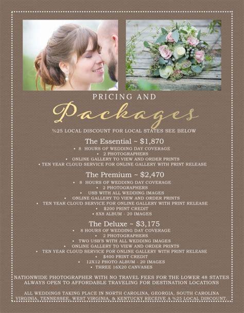 Destination Wedding Photographer Prices   2015 Specials NO
