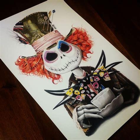 tattoo nightmares venice tim burton drawings mad hatter google search tim