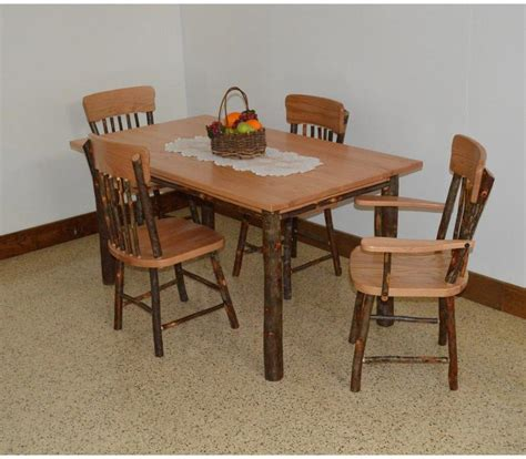 furniture  hickory  piece farm dining table set