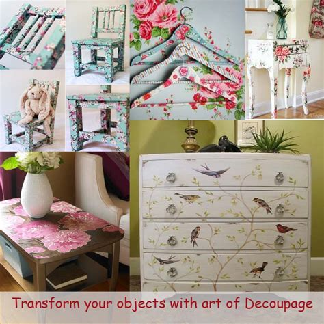 Decoupage Techniques Ideas - of decoupage ideas9 my desired home
