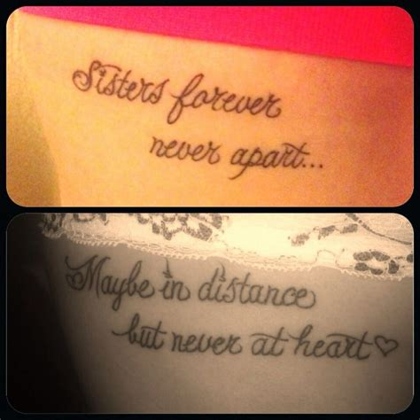 meaningful sister tattoos meaningful tattoos search tattoos