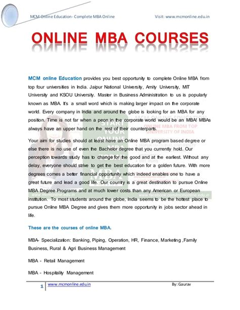Mit Mba Courses Free by Mba Courses Amity Jaipur National