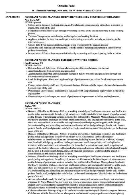 registered nurse nurse manager resume samples velvet jobs
