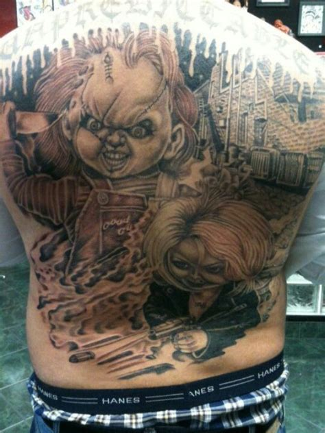 i want a chucky tattoo nettai tattooz pinterest