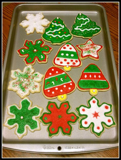decorated christmas cookies my five fs