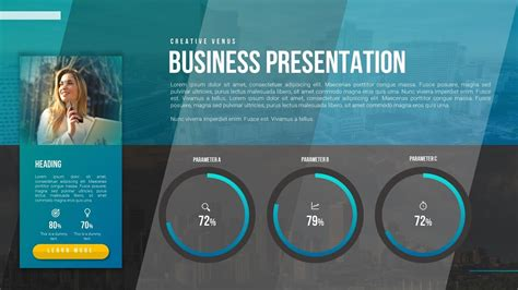 How To Design Beautiful Profile Business Portfolio Cv Slide In Microsoft Office365 Powerpoint How To Powerpoint Templates From Microsoft