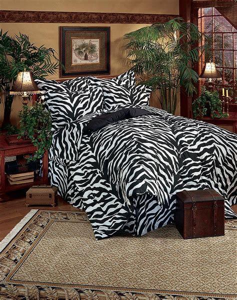 Zebra Bed In A Bag Bedding Set Kimlor Black White Zebra Print Bedding Bed In A Bag Set Bed Bag Complete Bed Set