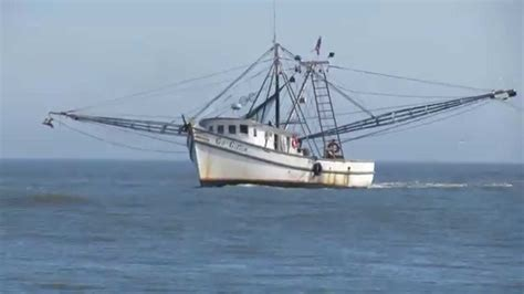 the shrimp boat shrimp boat off jekyll island youtube
