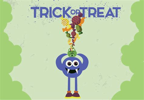Trick Or Treat Graphic 13 trick treat vector free vector