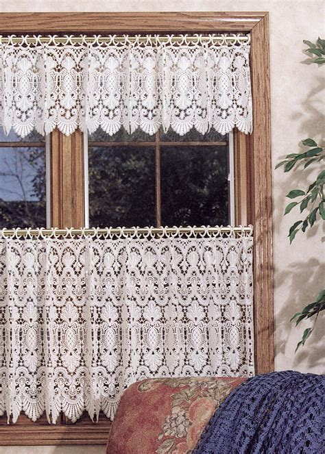 pineapple lace curtains pineapple macram 233 tier heritage lace