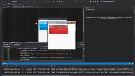 xaml layout tutorial tutorial wpf material design aula 8 listbox youtube