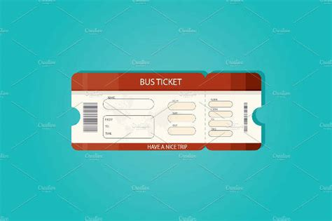 printable bus ticket template 70 ticket templates
