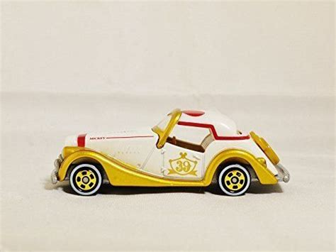 Tomica Disney Mickey Gold tomica disney motors mickey mouse speedstar 39th special edition white gold tomica