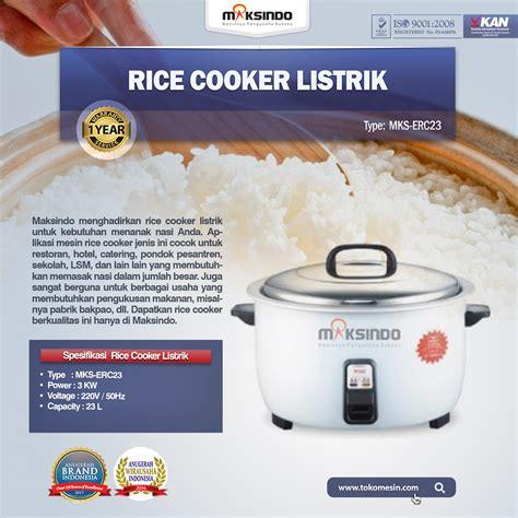 Rice Cooker Hemat Listrik jual rice cooker listrik mks erc23 di bali toko mesin