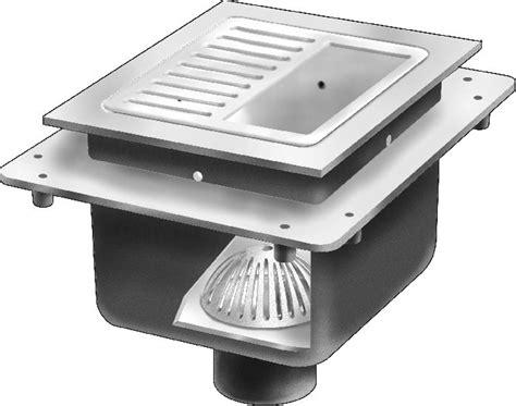 floor sink vs floor drain fs1740 12 quot x 12 quot x 10 quot deep floor sink without flange