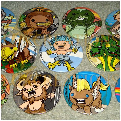 Pin Anime Custom Preorder 1 2 Hari jewelry and creations large buttons custom order
