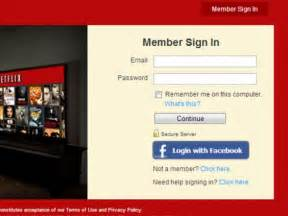 netflix login netflix login member sign my account