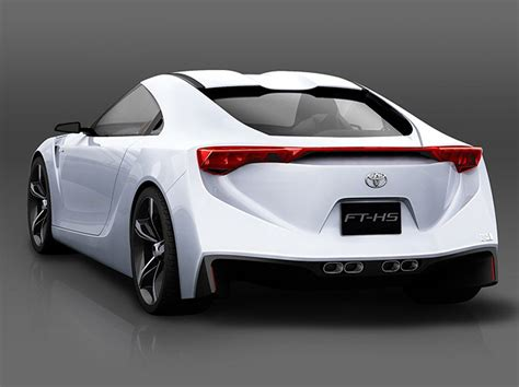 Toyota Ft Hs 2007 Toyota Ft Hs Concept Pictures History Value